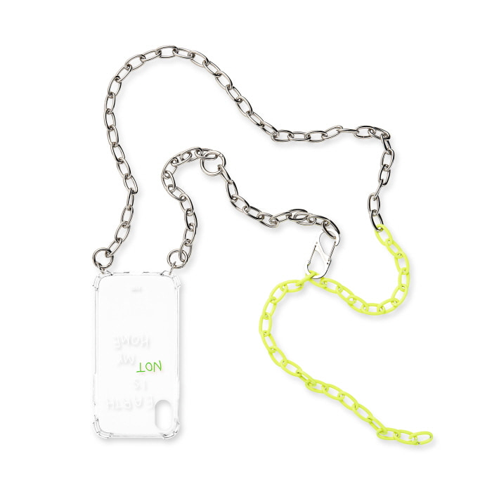 """NEON YELLOW MIXED CHAIN"" CASE"