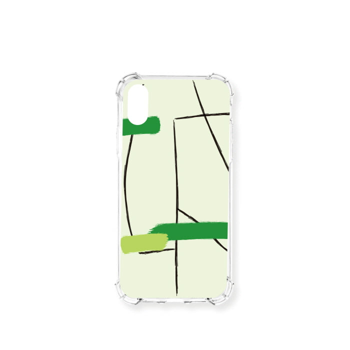 """GREEN"" JELLY CASE"